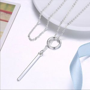 Jewelry - Silver Plated Drop Necklace 💕